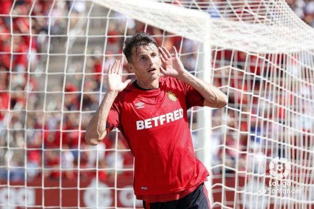 Torschütze beim 1:0 von RCD Mallorca: Ante Budimir.
