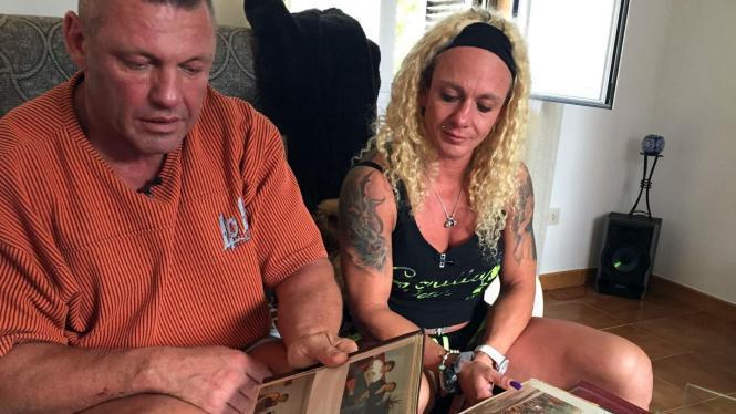 Caro Robens und ihr Mann Andreas.