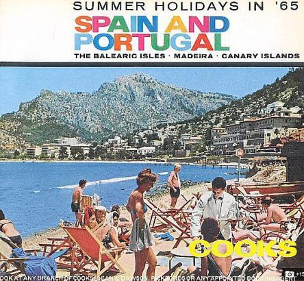 Mit diesem Bild aus Port de Sóller lockte Thomas Cook 1961 Urlauber nach Spanien und Portugal.