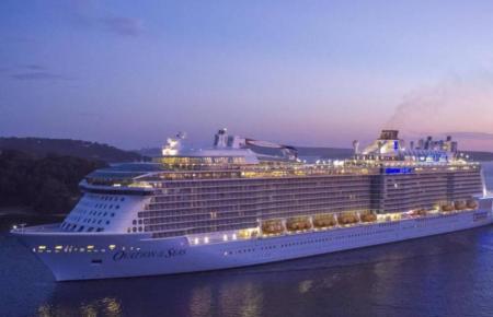 """Die """"Ovation of the Seas"""", das Schwesterschiff der """"Odyssey of the Seas""""."""