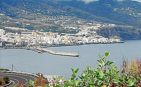 Blick auf Santa Cruz de Tenerife.