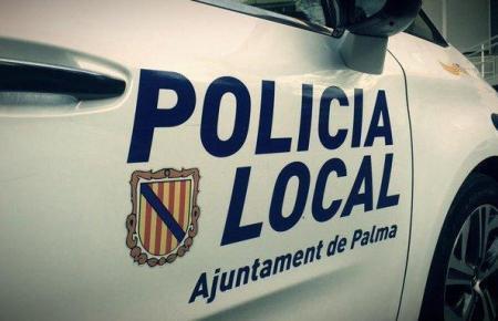 Fahrzeug der Lokalpolizei von Palma.