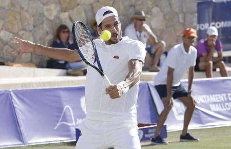 """2016 spielte Feliciano López bereits im Rahmenprogramm des Damenturniers """"Mallorca Open"""" in Santa Ponça."""