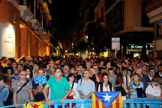 Katalanisten in Palma de Mallorca.