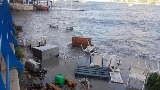 So sah es am Dienstag in Port d'Andratx aus.