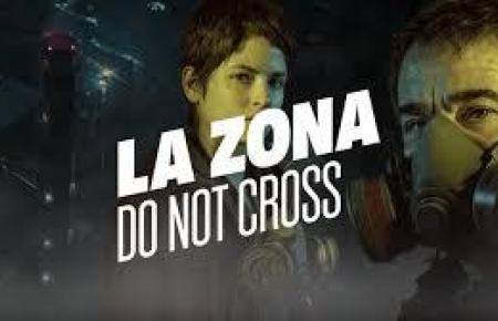 Mit diesem Bild wird in Spanien für die Serie geworben.
