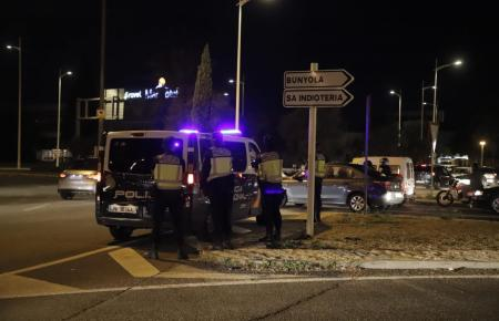 Die aufgebotenen Polizisten blieben unter sich.