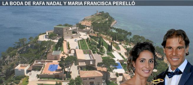 Tennisheld Rafael Nadal aus Manacor und Maria Francisca Perelló geben sich an diesem Samstag im Luxus-Anwesen La Fortalesa bei Pollença das Ja-Wort,