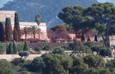 Die Hochzeit von Rafael Nadal und Maria Francisca Perelló wurde auf dem Freigelände des Luxus-Anwesens La Fortalesa im Norden von Mallorca zelebriert.