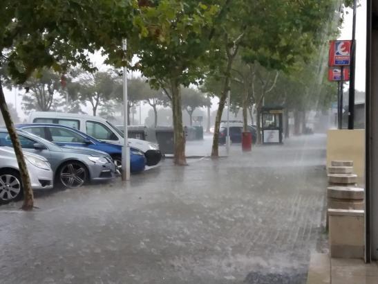 Heftige Regenfälle werden auf Mallorca erwartet.