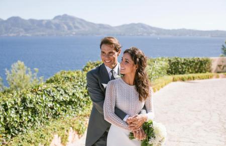 Das glückliche Brautpaar.