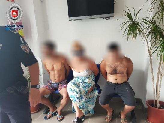 Im Sommer festgenommene Mitglieder einer auf Mallorca aktiven Diebesbande.