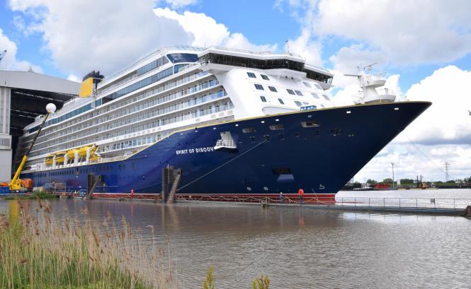 """Die neue """"Spirit of Discovery"""" bietet viel Komfort für maximal 900 Passagiere."""