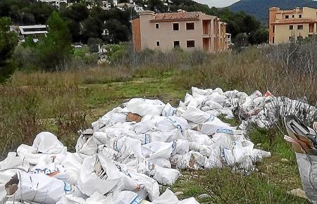 Müll wird auf Mallorca immer noch unsachgemäß entsorgt. Alleine die Bauabfälle haben in den vergangenen Jahren enorm zugenommen.