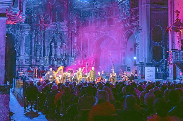 In der Kirche Sant Frances in Palma de Mallorca geht es an diesem Freitag musikalisch zu.