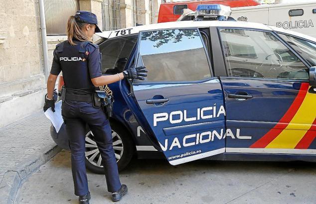 Die Nationalpolizei musste an einem ungewöhnlichen Ort vorstellig werden.