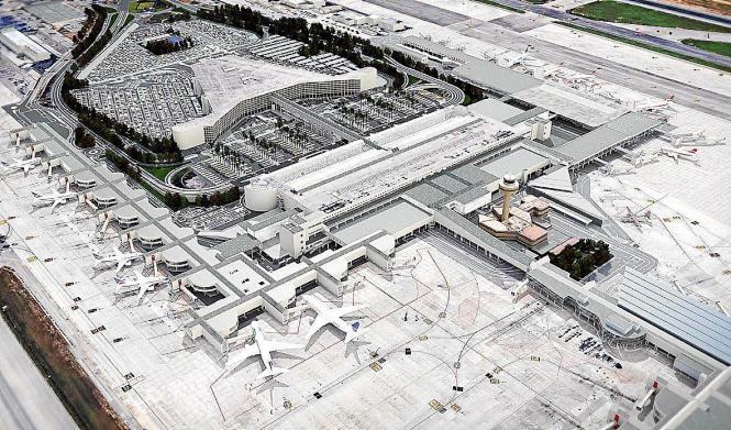 Auf dem Airport soll vieles anders werden.