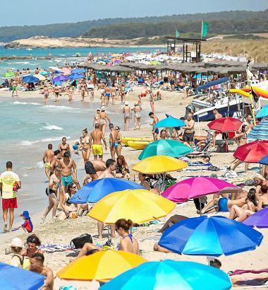 Der Tourismus ist der Wirtschaftsmotor der Balearen.