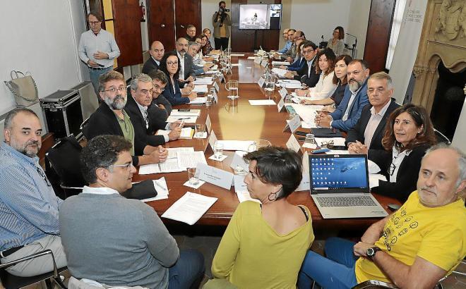 Die am Dienstag zusammengetretene Kommission CITS, die über die Vergabe der Projekte entscheidet, die mit dem Geld aus der Touristenabgabe Ecotasa bedacht werden.