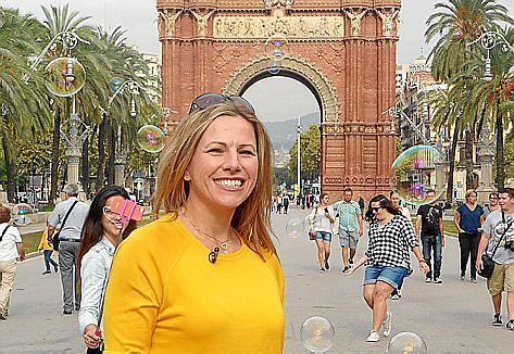 Andrea Grießmann zeigt ihr Barcelona.