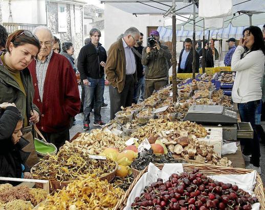 Die Herbstmärkte bieten eine reiche Auswahl an Mallorca-Produkten.