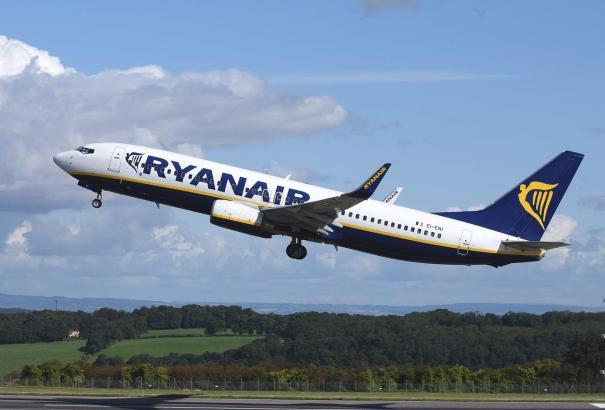 Boeing 737 NG von Ryanair.