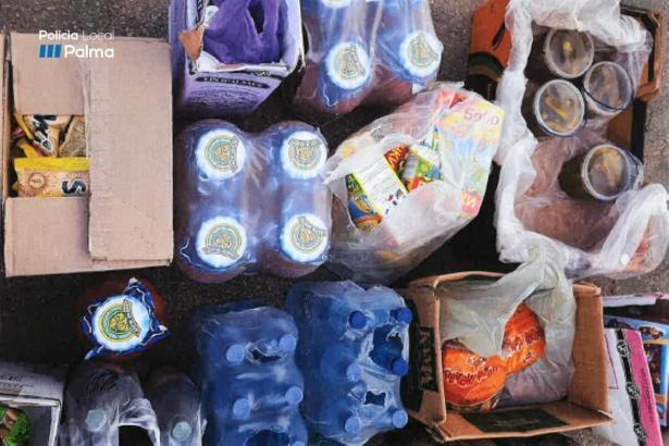 Die Produkte gingen anstatt in den Verkauf auf die Polizeiwache.