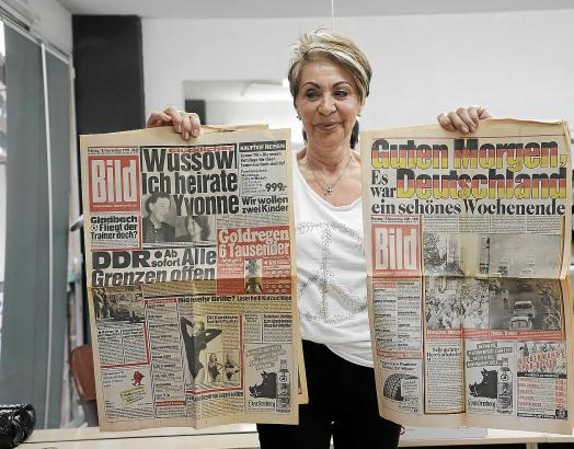 Bärbel Scharff erlebte beides: Mauerbau und Mauerfall