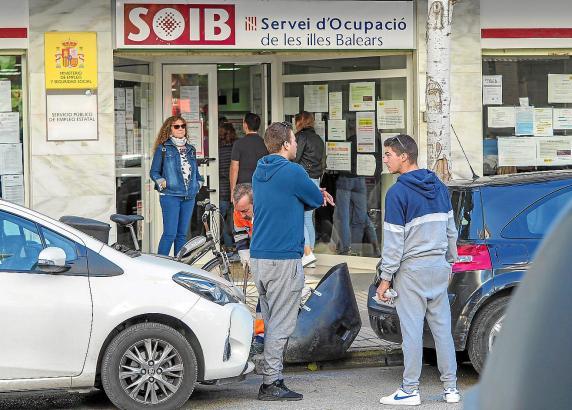 Im Herbst steigt die Arbeitslosigkeit auf den Balearen an.