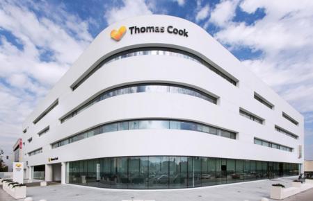 Die Thomas-Cook-Zentrale in Palma.