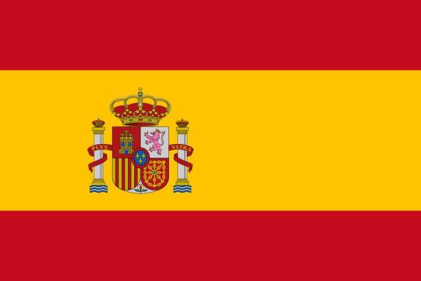 Die spanische Flagge.
