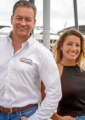Ralf Stein und Alina Langguth