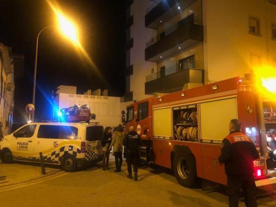 Am Freitag musste die Feuerwehr anrücken, weil es in einem Hotel an Palmas Paseo Marítimo brannte.