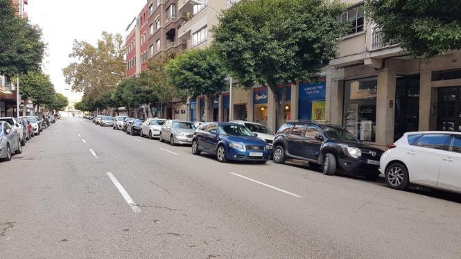 So sieht es jeden Tag in der Straße Ramón y Cajal aus.
