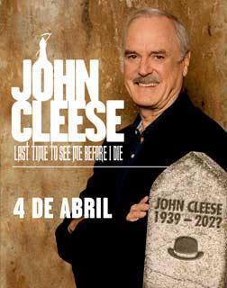 Humor-Legende John Cleese beehrt Palma.