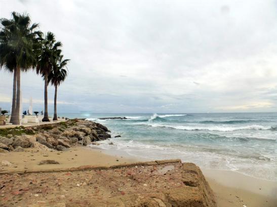 Erneuter grauer Tag auf Mallorca.