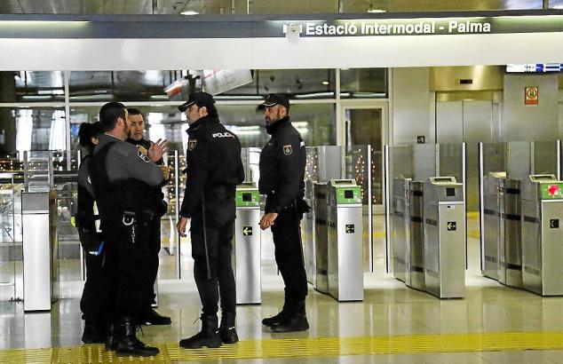 Sicherheitskräfte an Palmas Bahnhof werden verstärkt aggressiv angegriffen.