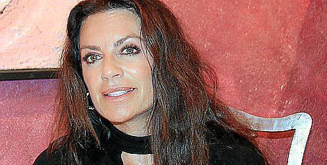 Christine Neubauer auf Mallorca.