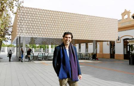 """Architekt Joan Miquel Seguí erhält den """"German Design Award 2020"""" für seine Dachkonstruktion des Bahnhofs an der Plaça d'Espanya in Palma."""
