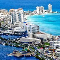 Voilà, das ist Cancún.