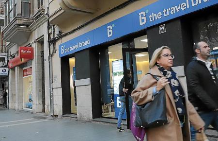 """Trotz Fusion sollen alle Reisebüros erhalten bleiben. """"B the travel brand"""" etwa gehört zur Barceló-Gruppe."""