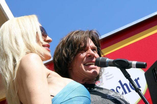 Jürgen Drews mit seiner Frau Ramona.
