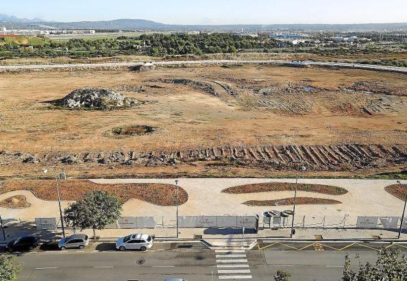 So sieht es derzeit auf dem möglichen zukünftigen Baugelände aus.