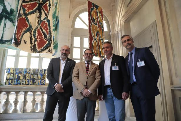 Andreu Serra, Cosme Bonet, Freddy Calligaris und Michel Magnier.