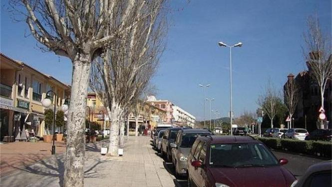 Die Avenida Jaume I. in Santa Ponça.