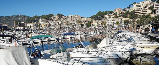 Sporthafen auf den Balearen.