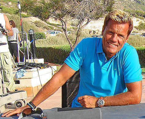 TV-Star Dieter Bohlen schwört auf Mallorca.