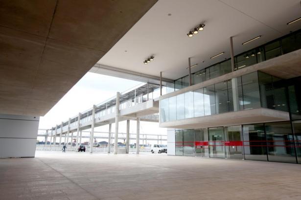 So sieht er aus, der Terminal von Alcúdia.