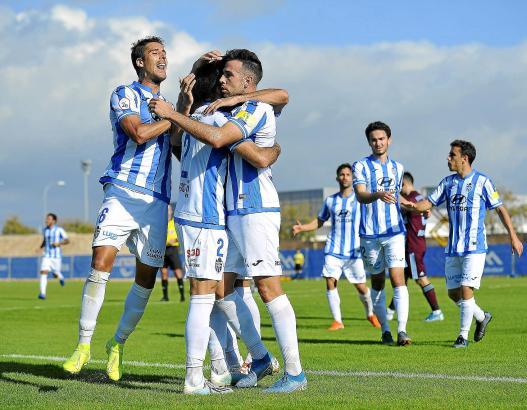 Gegen Celta B hatten die Kicker von Atlético Baleares gleich sechsmal Grund zum Jubeln.