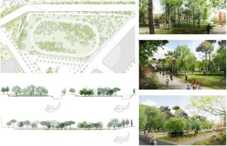 So soll der Stadtwald in Palma in Zukunft aussehen.